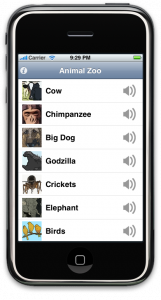 Animal Zoo aviailable at the App Store Now
